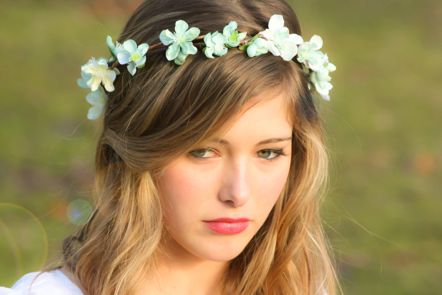 Hair Accessories for Wreaths and Wedding Hairstyles
