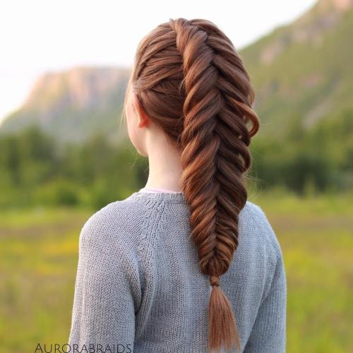 The Timeless Beauty of Fishbone Braids For Women 2020