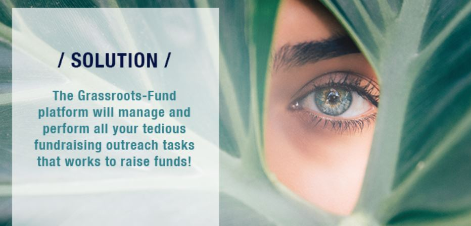 Grassroots-Fund Makes Fundraising Easy as 1-2-3