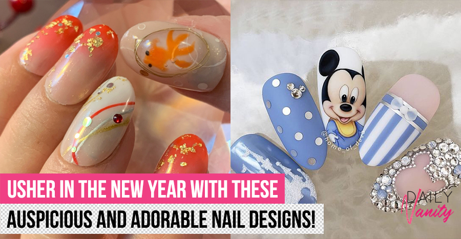 Top 10 festive nail inspirations to rock this Chinese New Year in 2020
