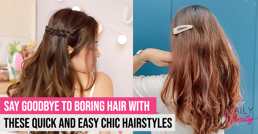 3 ways to effortlessly transform your boring old hairstyle into a chic Instagram-worthy look 2020