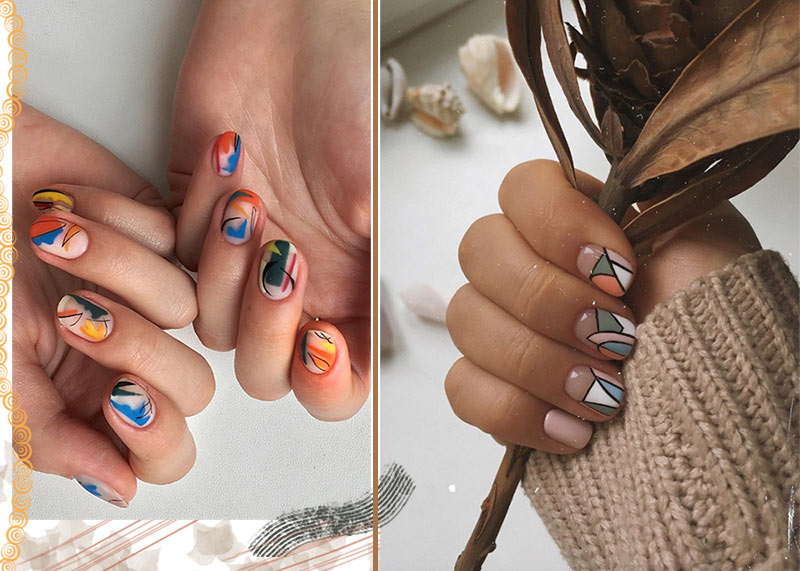 Top 71 Best Fall Nail Designs 2020 to Fall in Love with: Fall Nails to Inspire