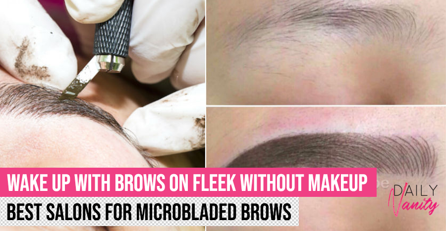 Best brow embroidery salons in Singapore 2020: View before and after photos and redeem best deals