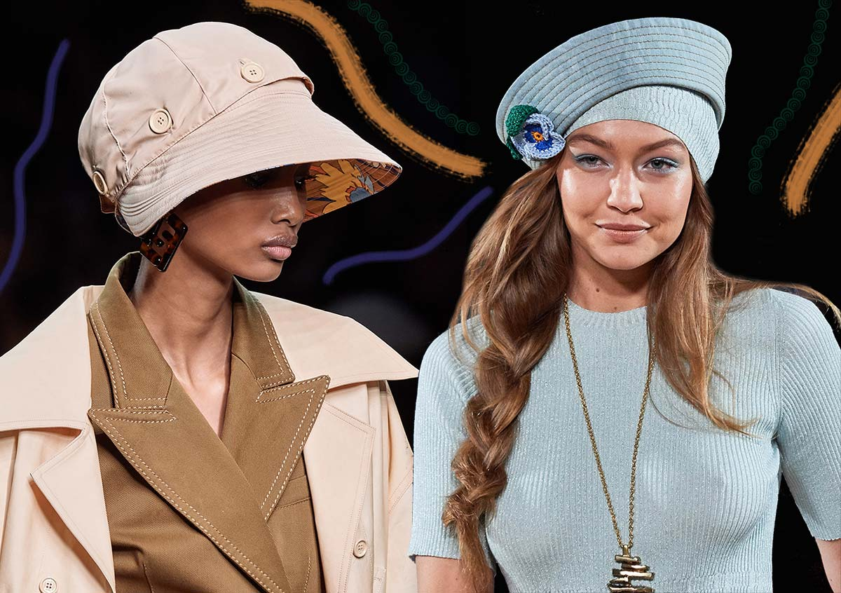 Spring/ Summer 2020 Hat Trends Spring 2020 Beauty and Accessory